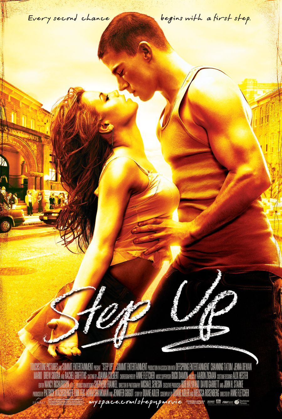 Step up  poster is copied by Ek Vilain
