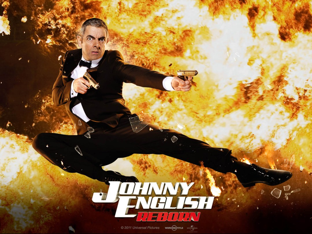 Johnny English Reborn  poster is copied by Agent Vinod