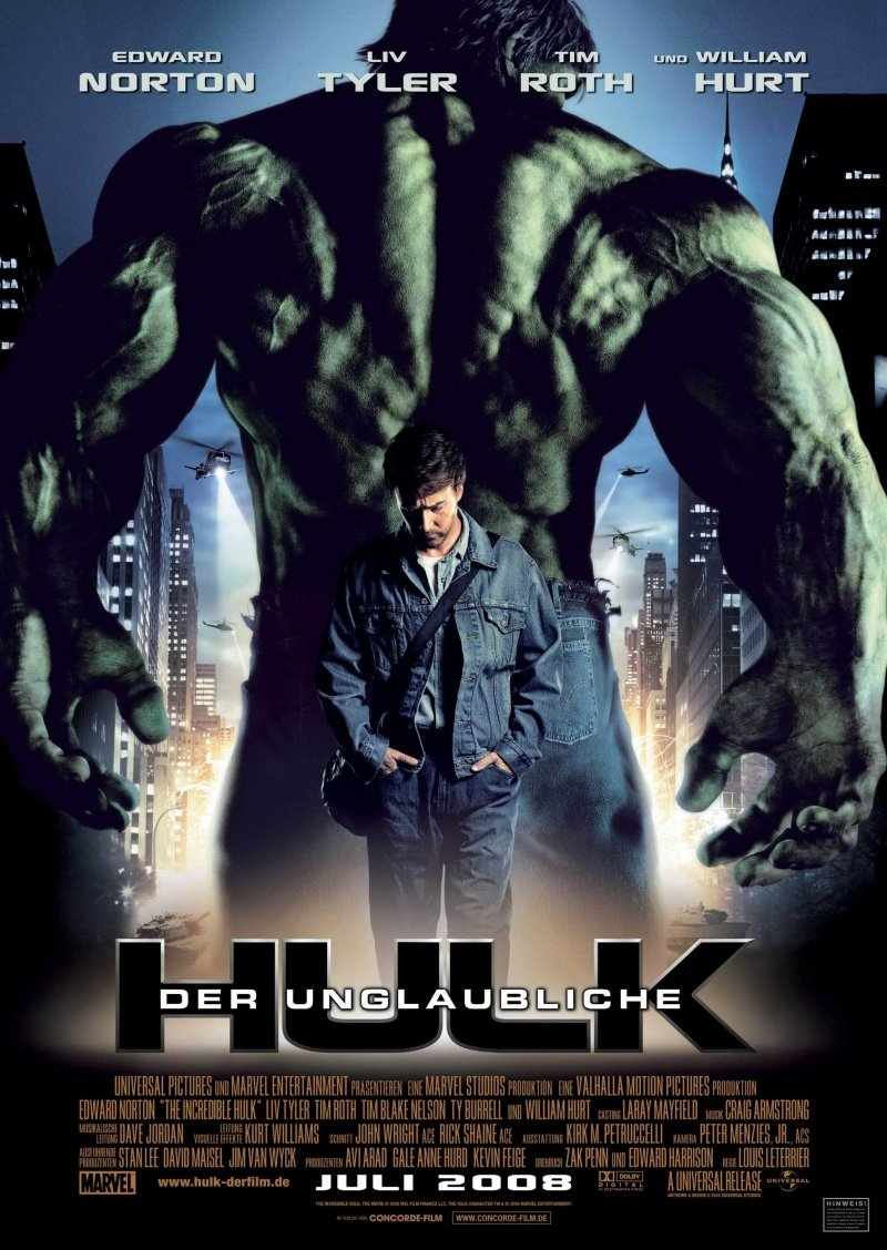 Incredible Hulk   poster is copied by Ghajini
