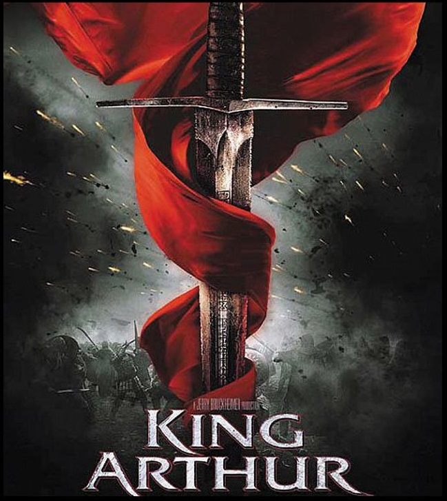 King Arthur  poster is copied by Hiss