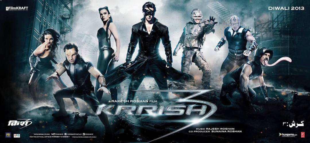 Krrish 3 poster is copied from Avengers