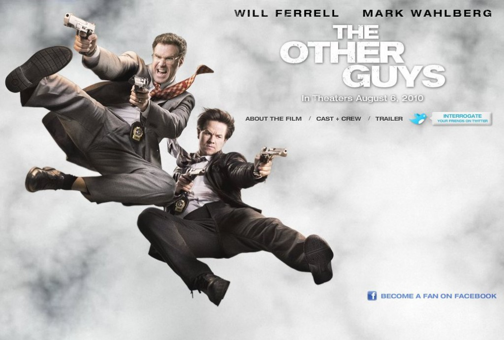 The Other Guys  poster is copied by O Teri