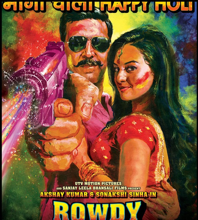 Rowdy Rathore poster is copied from The Replacements