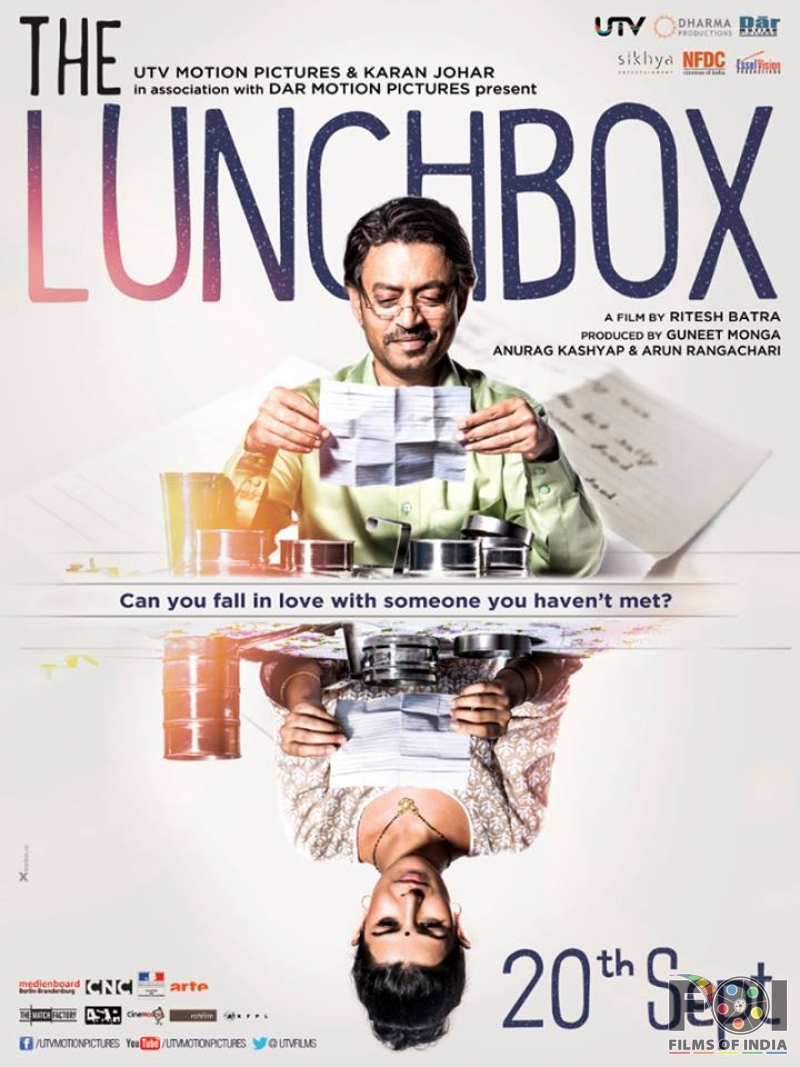 The Lunch Box poster is copied from Looper