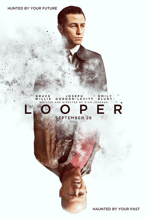 Looper  poster is copied by The Lunch Box