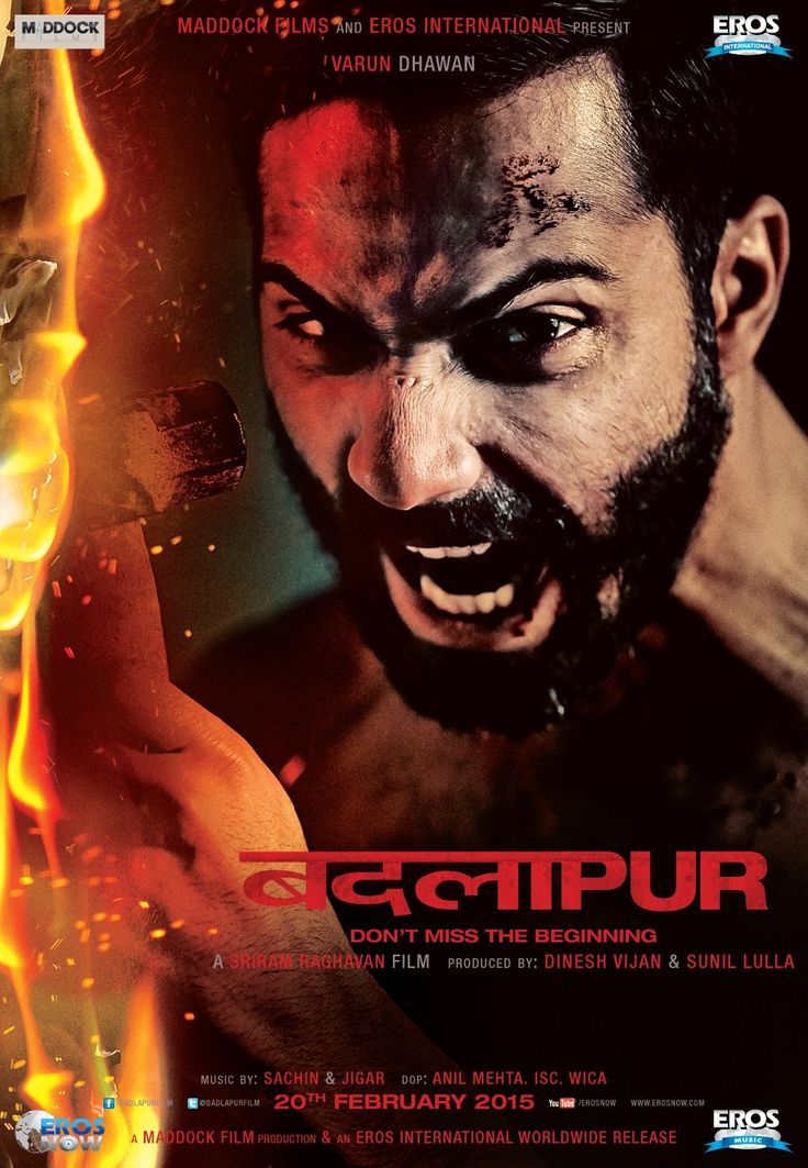Badlapur poster is copied from Inception