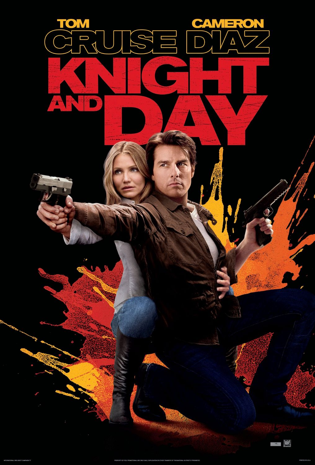 Knight and Day  poster is copied by Bang Bang