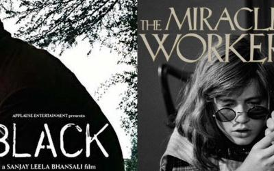 'Black' poster is copied from 'The miracle worker'