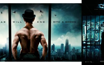 'Dhoom 3' poster is copied from 'The Dark Knight'