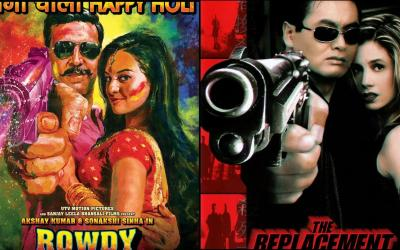 'Rowdy Rathore' poster is copied from 'The Replacements'