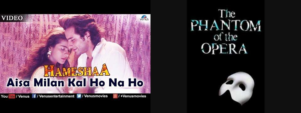 'Aisa Milan' copied from 'The Phantom Of The Opera'