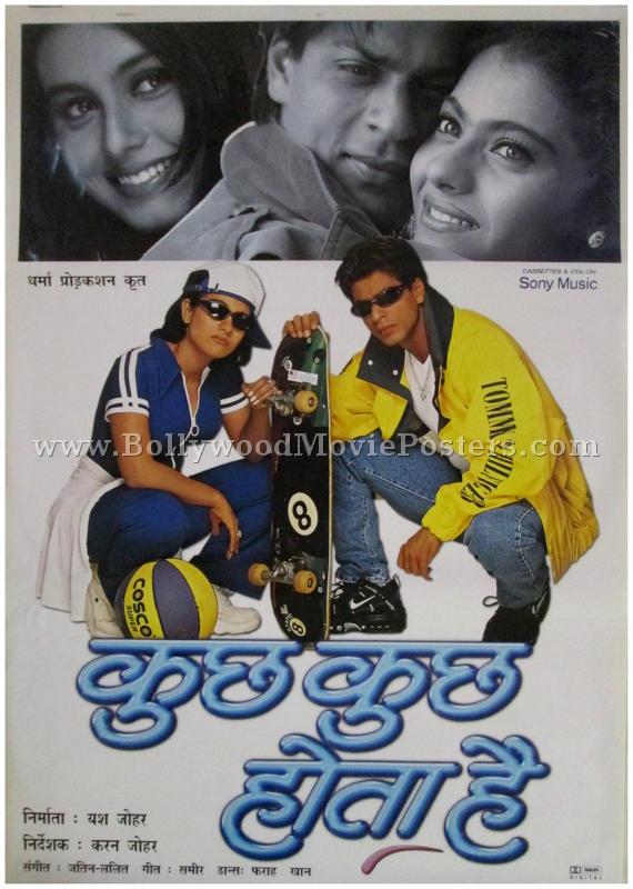 Image result for kuch kuch hota hai poster