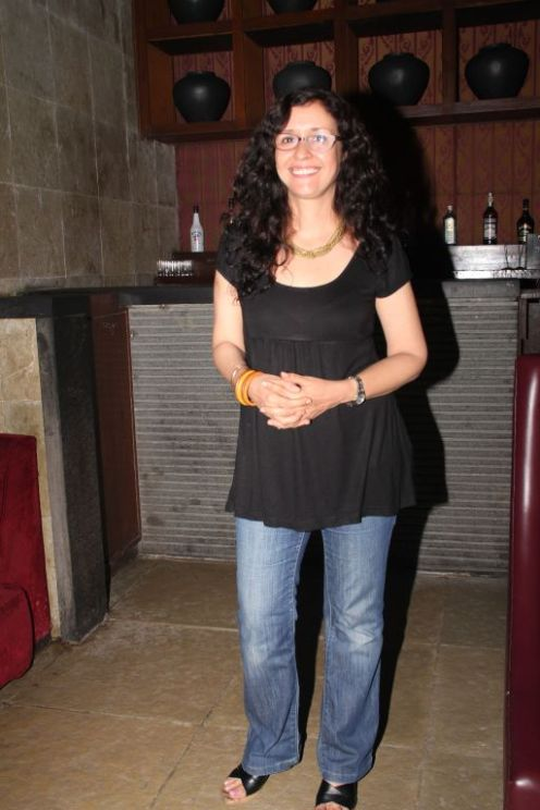 Shernaz Patel at the Salsa Nite for the film 'Love, Wrinkle-Free'