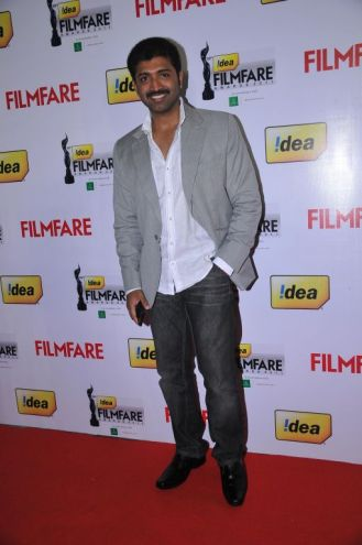 Arun Vijay (Tamil Actor) at the Red Carpet of '59th !dea Filmfare Awards 2011' (South) on 8th July at Jawaharlal Nehru indoor stadium, Chennai.
