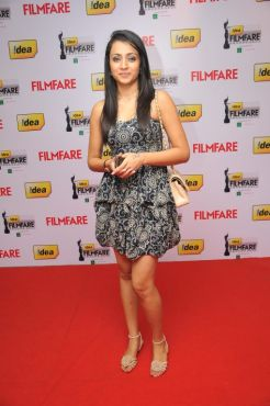 Reema Sen at the Red Carpet of '59th !dea Filmfare Awards 2011' (South) on 8th July at Jawaharlal Nehru indoor stadium, Chennai.