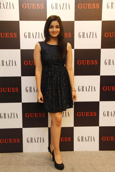 Alia Bhatt at Grazia Cover launch at Guess.
