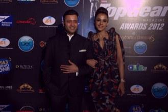 Ash Chandler & Mansi Scott hosted the TopGear Magazine India Awards 2012