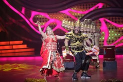 Neelu and Arving during their perfomance in the ex-contestant special of Nach Baliye-5. Catch them from Sat to Sun at 9pm on STAR Plus