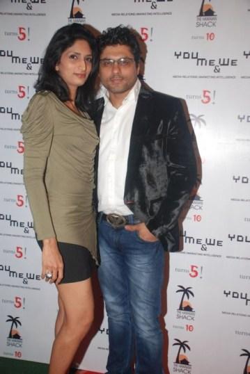Designer Riyaz & Reshma Gangji @ YouMe&We PR 5th Anniversary bash