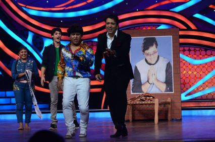 Govinda and Arvind shaking-a-leg on Nach Baliye-5 set. Catch Nach Baliye-5 sat and sun @ 9pm on STAR Plus