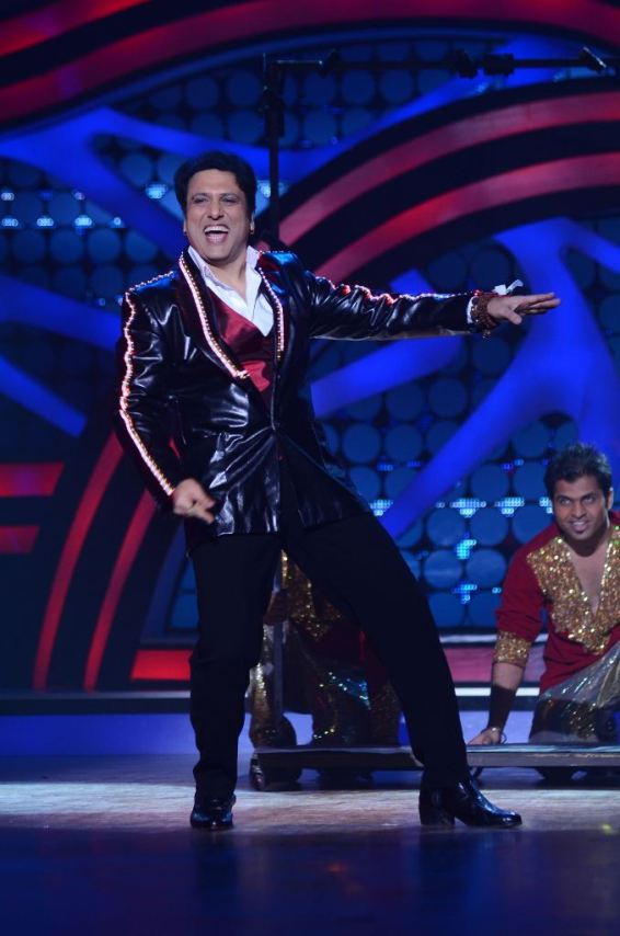 Govinda on Nach Baliye-5 set. Catch Nach Baliye-5 sat and sun @ 9pm on STAR Plus