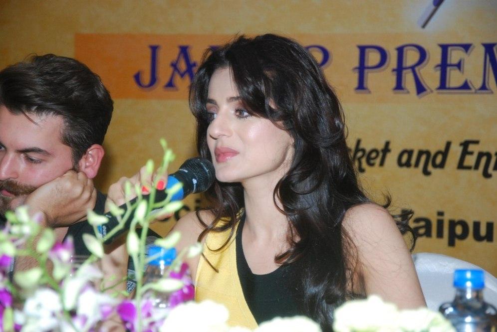 Ameesha Patel at the Launch of 'Jaipur Premier League' Season-2 ...
