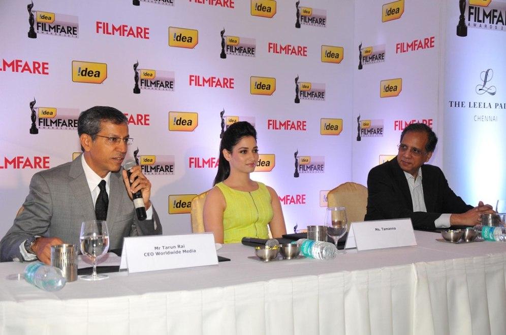 Mr. Tarun Rai at the '60th Idea Filmfare Awards 2012' (South) Press conference..