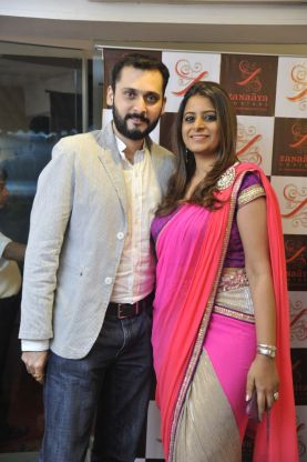 09-Dipankar Zalpuri with Designer Shouger Merchant Doshi@Zanaaya Couture Store Launch,Kemps Corner