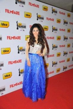 Isha Talwar on the Red Carpet of '60the Idea Filmfare Awards 2012(South)