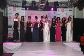 Models walking the ramp at fashion show at the 'Femina Carnival 2013' at Hyatt Regency, Pune