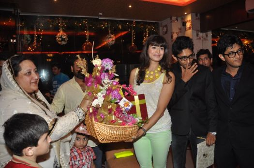 Queraishi's welcoming Pooja Batra for the launch of ther new venture