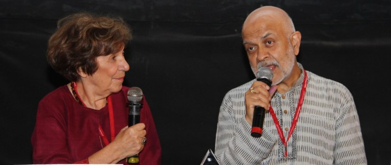 Joan Dupont and Waris Hussein present for discussion at 15th Mumbai Film Festival (8)