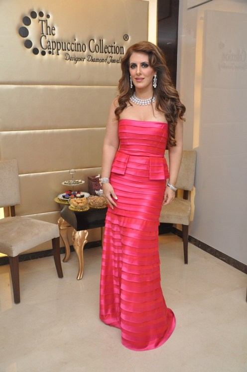 12-Designer Pria Kataaria Puri,Brand Ambassador for CC@Cappuccino Collection Store Launch