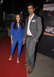 Aditi Rao Hyadri & Kunal Kapoor at the '6th TopGear Awards 2013' at Sofitel, Mumbai