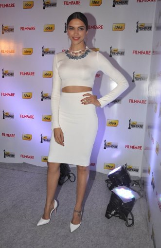 Deepika Padukone launched the 59th Idea Filmfare Awards Special issue at JW Marriott.2