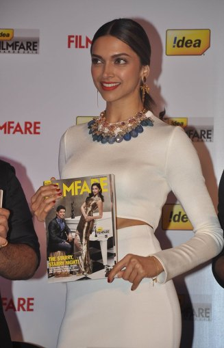 Deepika Padukone launched the 59th Idea Filmfare Awards Special issue at JW Marriott.8