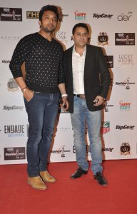 Preetam & Mr. Waahiid Ali Khan at the '6th TopGear Awards 2013' at Sofitel, Mumbai.1