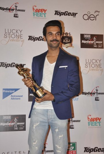 Rajkummar Rao at the '6th TopGear Awards 2013' at Sofitel, Mumbai.2