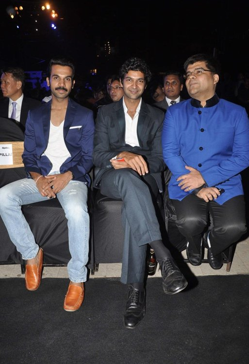 Rajkummar Rao, Purab Kohli & Jitesh Pillaai at the '6th TopGear Awards 2013' at Sofitel, Mumbai