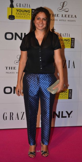 Celebrities walked the Red Carpet at the Grazia Young Fashion Awards 2014 at the Leela, Mumbai.1