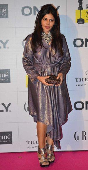 Nisha Jamwal at the Red Carpet of Grazia Young Fashion Awards 2014 at the Leela, Mumbai