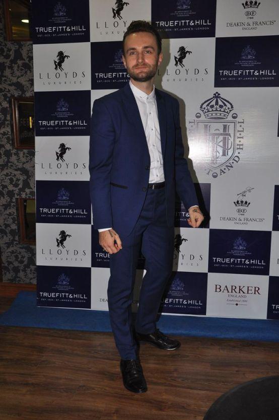 20 Thom Robins, International Master Barber T&H @ Truefitt & Hill launch event