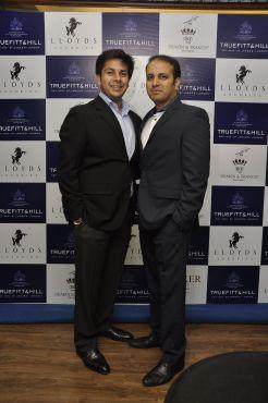 27 L-R Mr. Krishna Gupta, MD Lloyds Luxuries Ltd. and Mr. Istayak Ansari, Director Lloyds Luxuries Ltd. @ Truefitt & Hill launch event