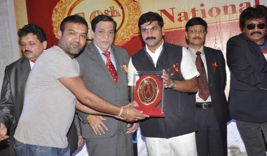 Baabush Sharma received '10th Excellence National Best Publicist Awards 2014'