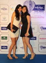 Guests at the Blue carpet of 'The Lonely Planet Magazine India Travel Awards 2014'