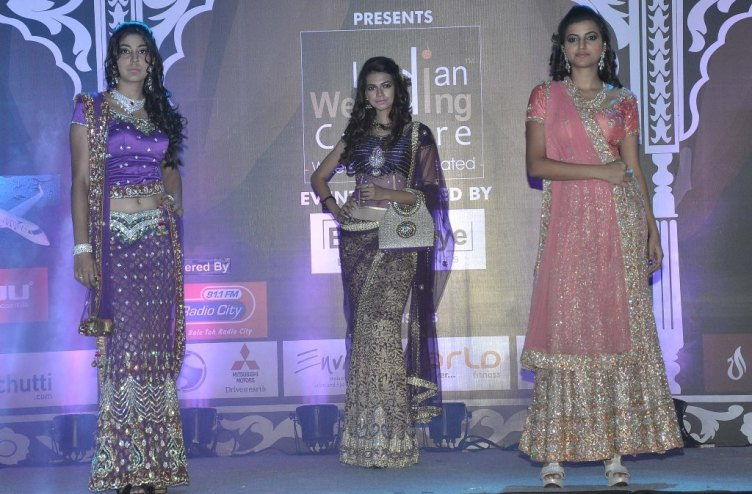 Models walked the ramp at the 'Indian Wedding Couture'.5