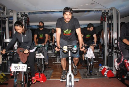 06 Vikas Bhalla @ SuperSpin event in Gold's Gym, Bandra