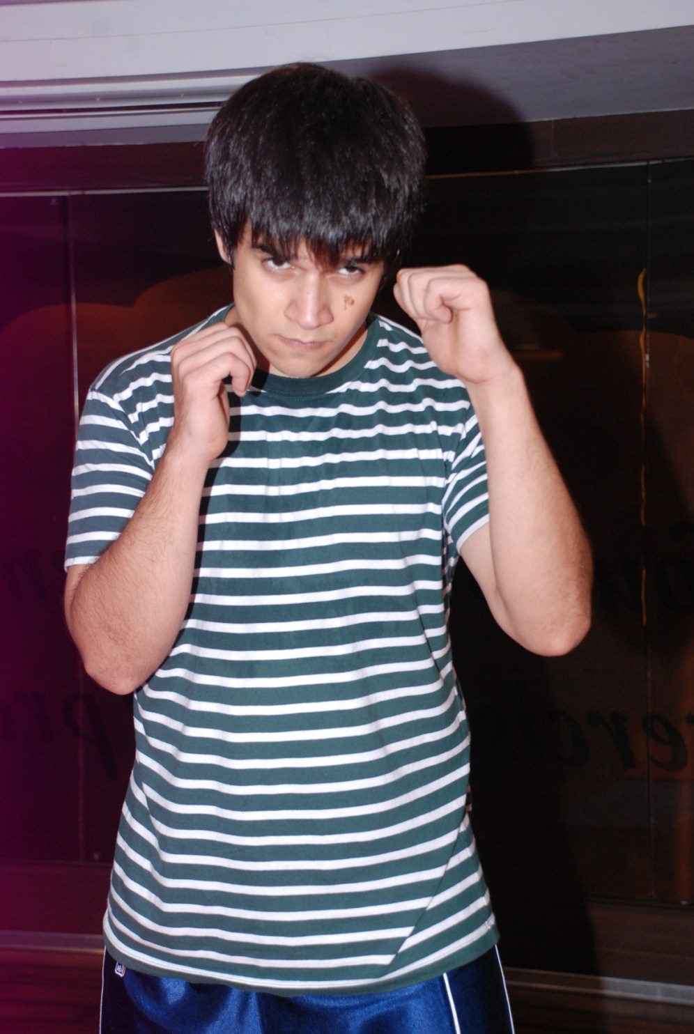 Actor Vivaan Shah promoting The Wolverine workout at Gold's Gym, Bandra2