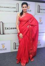 Actress Kirti Kulhari launched the kalamwali.com 'a world of words'.