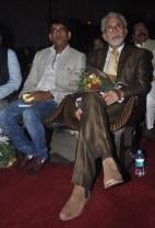 Ravi Kishan & Naseeruddin Shah released Quaiser Khalid's Poetry at Pasbaane Adab's 'Third Inrenational Poetry Festival'.2